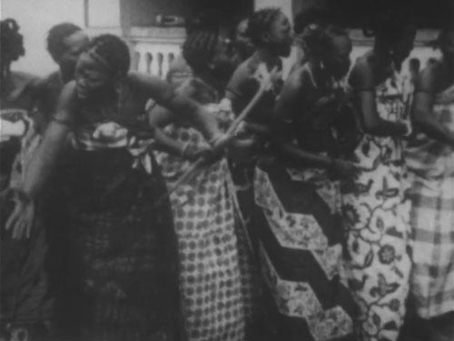 アボメーの宮廷の王妃たちの踊り
