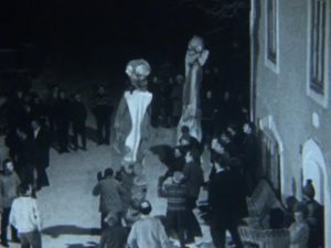 ECフィルムE1953ヨーロッパ・チロル「クラウバウフ行進の巨大な仮面(行動研究)」(1960)