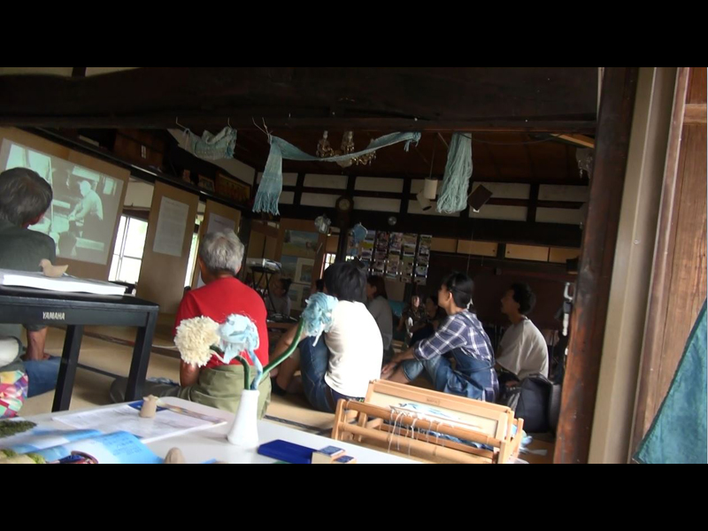 歓藍社「道具つくりとEC@小さな藍祭り」+わすれん! 「ペルーの葦舟と閖上の木造舟@星空と路上映室」レポート